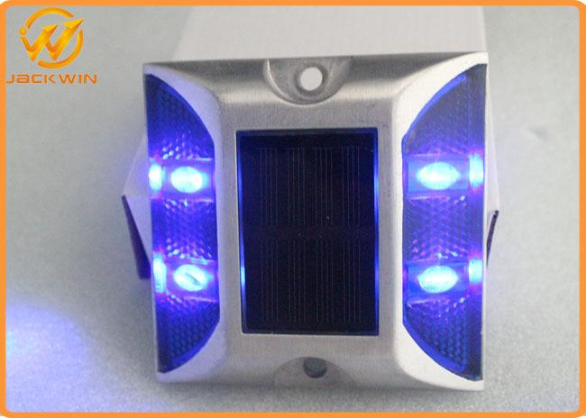 105*105*23mm LED Solar Road Stud / Reflective Studs On The Road , 1000mm Visual Distance