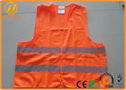 China Hi Visibility Security Reflective Safety Vests for Construction Worker / Police / Adults factory
