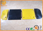 China Yellow Jacket Durable Parking Lot Bumpers Rubber UV resistant 500 * 400 * 50 mm factory