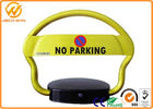 China Anti Rust Parking Space Lock , Waterproof Remote Control Automatic Car Parking Space Barriers factory