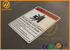 Commercial Grade Highway Traffic Signs Aluminum Danger Warning Signs For Safety