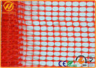 100% Virgin HDPE UV Customized Orange Plastic Mesh Fencing Safety Security Fence