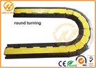 90 Degree Rubber Corner Cable Protector Ramp / 2 Channel Cable Protector