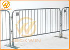 Removable Portable Event Galvanized Steel Pedestrian Barriers with Flat Feet