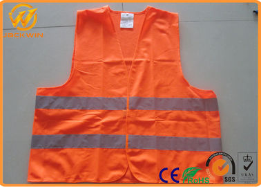 China Hi Visibility Security Reflective Safety Vests for Construction Worker / Police / Adults distributor